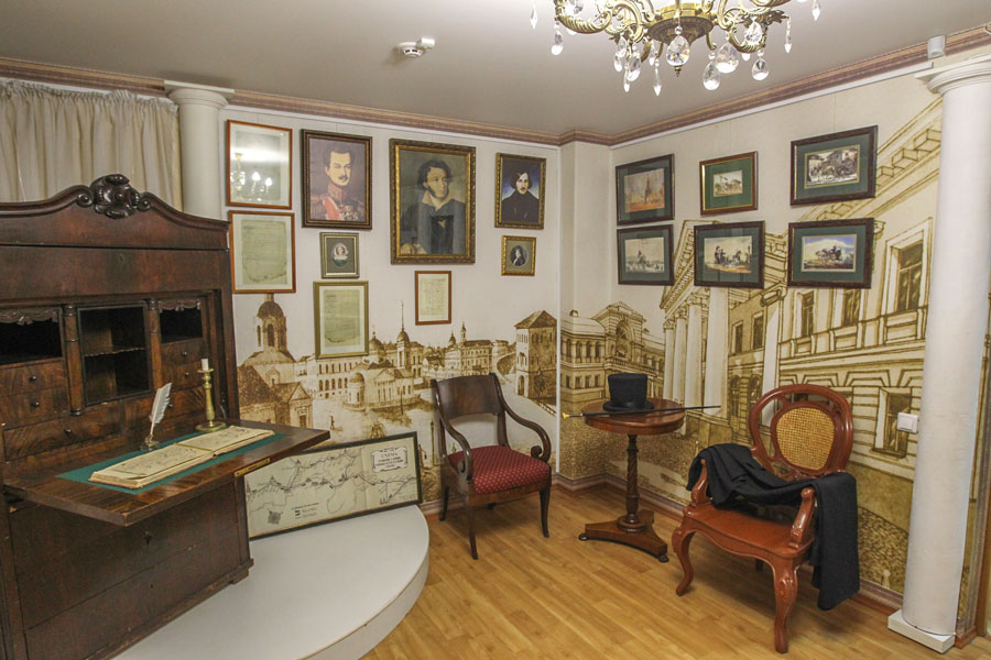 The Pushkin's Museum branch office in Nizhny Novgorod