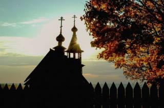 Памятная часовня Архангела Михаила. Болдино. Музей-усадьба А.С.Пушкина