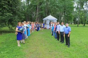 Выездная регистрация для молодоженов в усадьбе Пушкиных с.Львовка