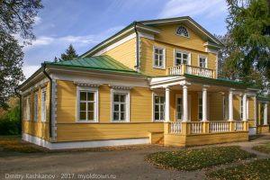 Болдинская осень. Господский дом в усадьбе А.С.Пушкина