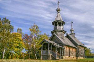 Болдинская осень. Часовня Архангела Михаила