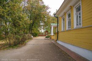Усадьба Пушкина в Болдино. Осенние фотографии