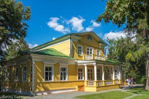 Господский дом в усадьбе Пушкина. Большое Болдино