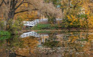 Усадьба А.С.Пушкина. Верхний пруд. Болдинская осень