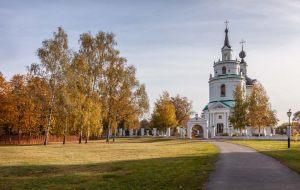 Болдинская осень. Церковь