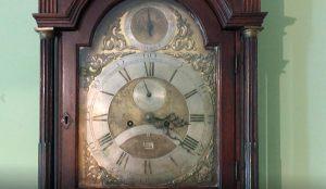 Часы в кабинете А.С.Пушкина