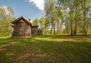 Усадьба во Львовке. Церковь Александра Невского