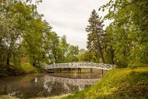 Усадьба А.С.Пушкина в Болдино. Горбатый мостик