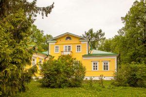 Усадьба А.С.Пушкина в Болдино. Господский дом