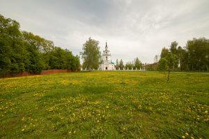 Луг перед Музеем сказок Пушкина