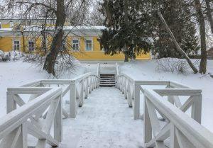 Верхний пруд. Горбатый мостик. Музей А.С.Пушкина